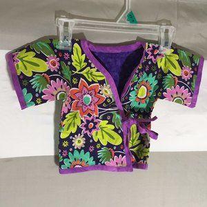 Floral Design Custom made Baby Kimono